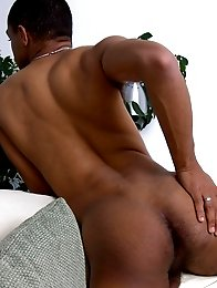 Hot black english guy with a huge uncut dick